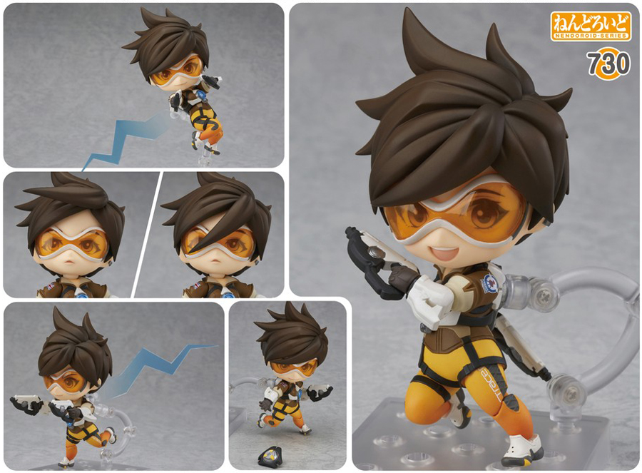 Overwatch Tracer Classic Nendoroid
