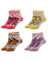 Five Nights at Freddy's Youth Ankle Socks 4 Pack