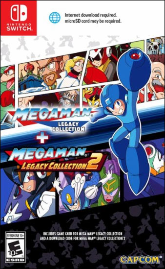 Mega Man Legacy Collection 1 & 2