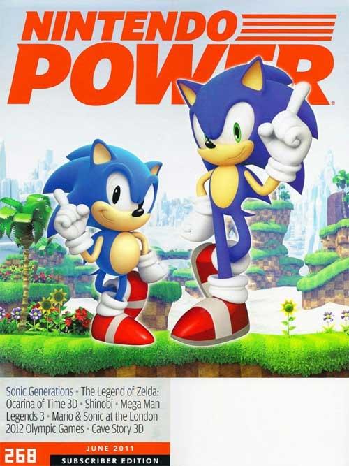 Nintendo Power Volume 268 Sonic Generations