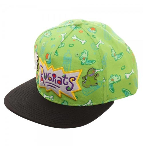 Rugrats Sublimated Snapback with Lapel Pins