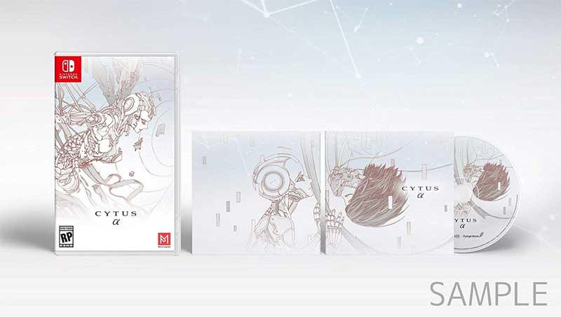 Switch Cytus Alpha bonus soundtrack cd