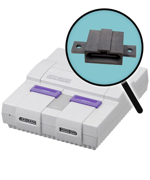 Super Nintendo Repairs: Multi-Out Port Replacement Service