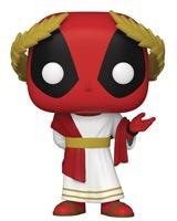 Pop Marvel Deadpool 30th Roman Senator Deadpool Vinyl Figure