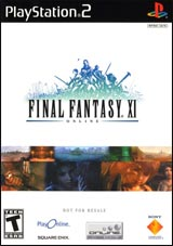Final Fantasy XI with PS2 Hard Drive