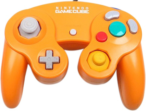 GameCube Controller Spice Orange by Nintendo