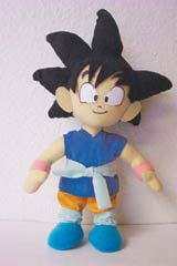 Dragonball GT Goku Plush