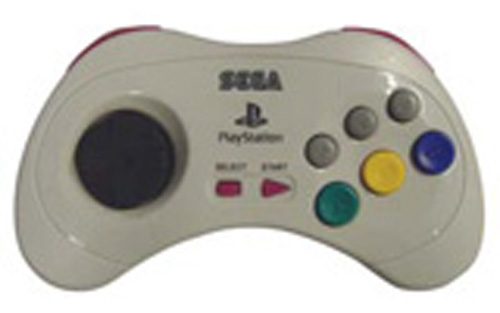PS2 Saturn Controller by Sega (White)