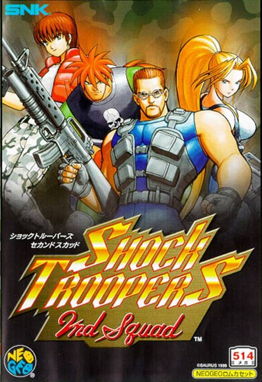 Shock Troopers 2nd Squad Neo Geo AES