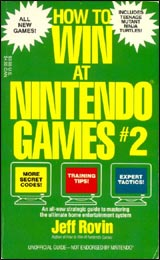 How to Win at Nintendo Games #2 by Jeff Rovin