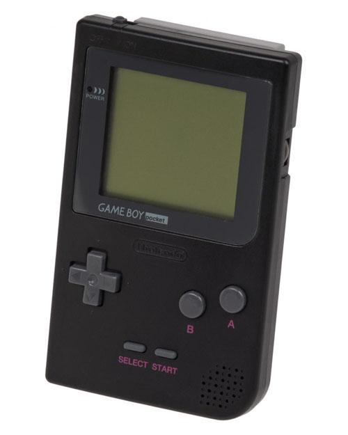 Nintendo Game Boy System Black