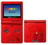 Nintendo Game Boy Advance SP Groudon Edition
