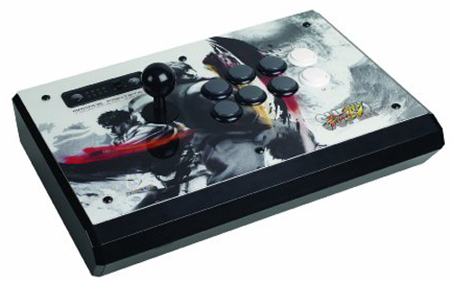 PS3 Super Street Fighter IV Tournament Edition FightStick White