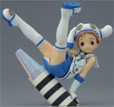 Creators Labo #11 Yug Blue Crayon Girl PVC Figure