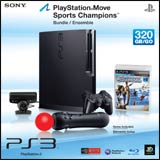 PlayStation 3 Slim 320GB Move Bundle