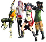 Final Fantasy XIII Trading Arts Set of 4 Figures