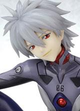 Neon Genesis Evangelion Kaworu Nagisa Plug Suit Ani-Statue