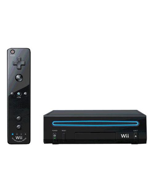 Nintendo Wii Model 2 System Black
