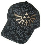 Legend of Zelda Triforce Embroidered All Over Print Cap