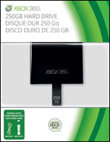Xbox 360 250GB Internal Hard Drive for Slim Xbox 360