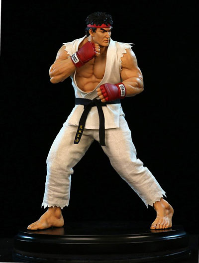 Street Fighter Ryu 1/4 Scale 17 Inch Statue