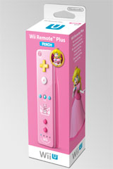 Nintendo Wii Remote Plus Princess Peach Limited Edition