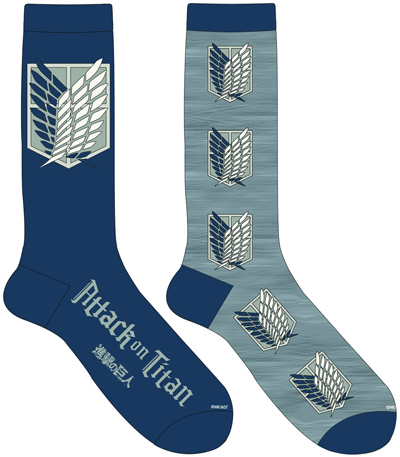Attack on Titan Scout Socks