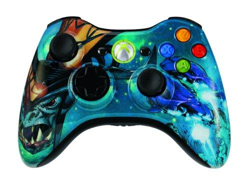 Xbox 360 Halo 3 Covenant Wireless Controller