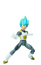 Dragon Ball Super Saiyan God Vegeta S.H. Figuarts Resurrection F Ver.