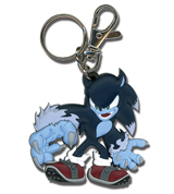 Sonic the Hedgehog Werehog Sonic PVC Keychain