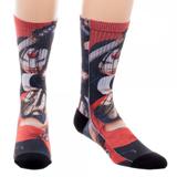 Suicide Squad Katana Sublimated Crew Socks