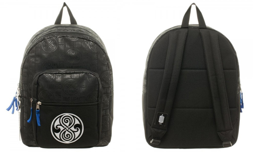Dr Who Seal of Rassilon Backpack