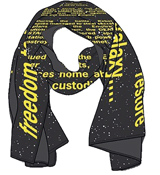 Star Wars: Return of the Jedi Opening Credit Crawl Scarf