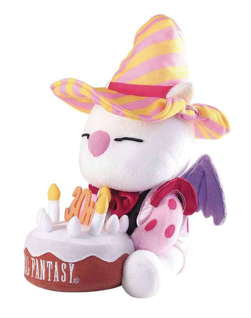 Final Fantasy 30th Anniversary Moogle Plush