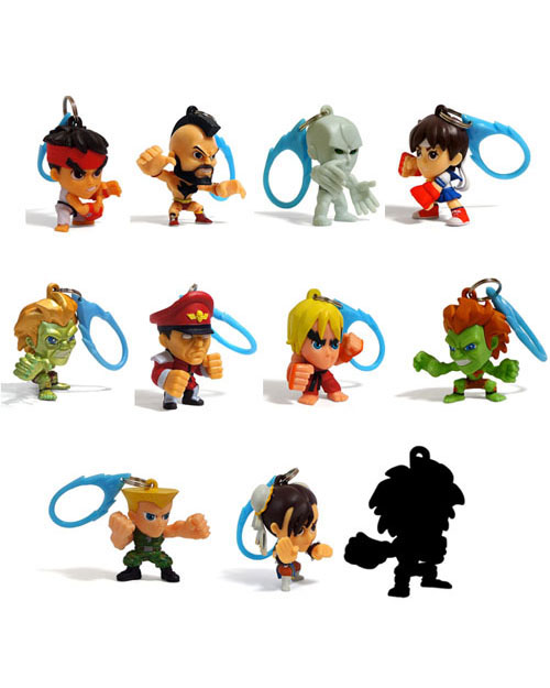 Street Fighter Figure Hangers