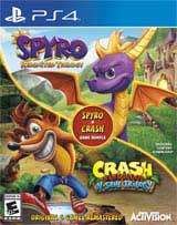 Spyro + Crash Bundle (Spyro Reignited & Crash N Sane)