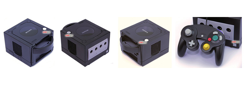 Nintendo GameCube Refurbished System Jet Black additional angles