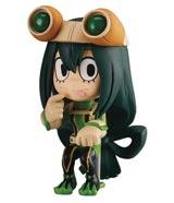 My Hero Academia Chibi Masters Tsuyu Asui Mini Figure