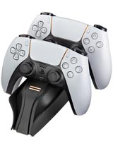 PlayStation 5 Twin Charge 5 Controller Charging Station Black Snakebyte