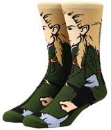 Lord of the Rings Legolas 360 Character Crew Socks