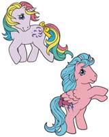 My Little Pony Firefly X Windy Pin Set