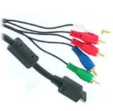 PS2 Component AV Cable