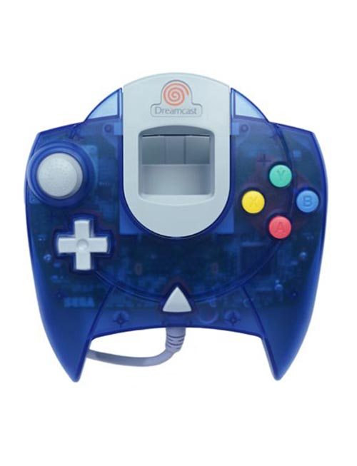 Dreamcast Controller Clear Blue by Sega