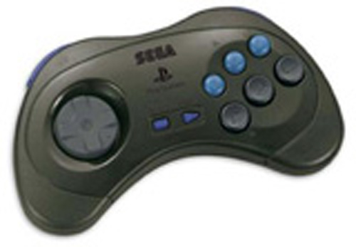 PS2 Saturn Controller by Sega (Grey)
