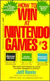 How to Win at Nintendo Games #3 by Jeff Rovin