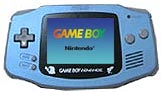 Nintendo Game Boy Advance Suicune Blue Limited Edition