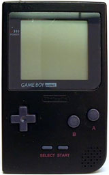Nintendo Game Boy Pocket System Black