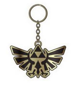 Legend of Zelda: Triforce Emblem Metal Key Chain