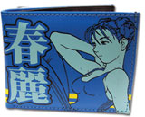 Street Fighter Alpha Chun-Li Bi-Fold Wallet