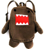 Domo Stuffed Plush Bag